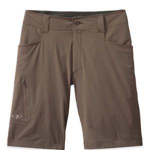 "Outdoor Research 10"" Ferrosi Shorts in Mushroom"